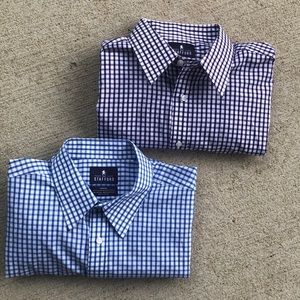 Bundle of two Stanford Travel shirts 16 1/2